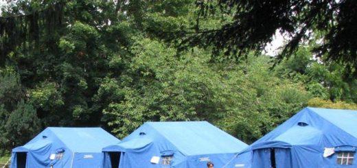 campo scuola protezione civile a carignano