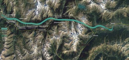 Tav tracciato Torino-Lione