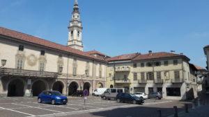 L'ex Palazzo Municipale di Carignano in piazza San Giovanni