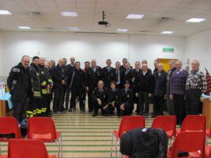 Polizia municipale di Carignano in festa