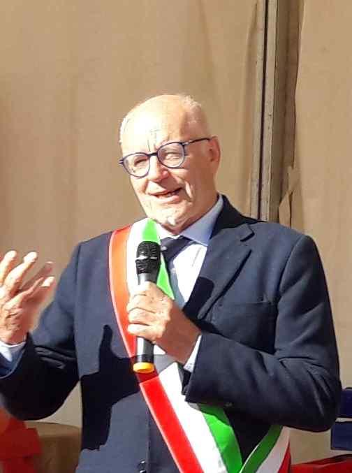 Coromavirus a Carignano - Il sindaco di Carignano Giorgio Albertino