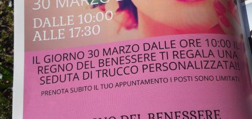 Regno del Benessere Carignano evento make-up