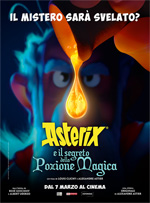 Asterix e il segrero della pozione magica Panoramix alla ricerca di un successore