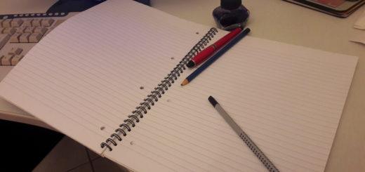 Studio quaderno appunti università