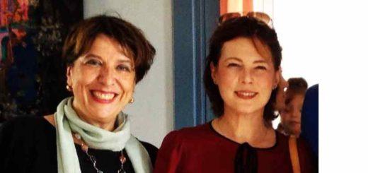 Biblioteca Moncalieri, assessora Laura Pompeo e direttrice Giuliana Cerrato