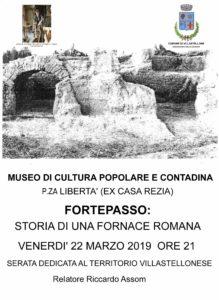 La fornace romana di Fortepasso