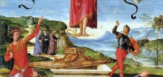 La Resurrezione di Cristo Raffaello Sanzio