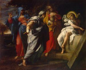 Lunedì dell'Angelo Annibale Carracci Pie donne al sepolcro