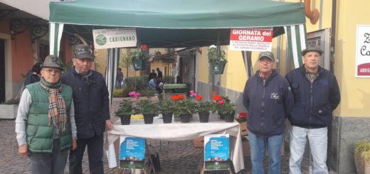 Giornata del Geranio Alpini Carignano