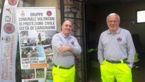 Protezione civile Carignano Campo scuola