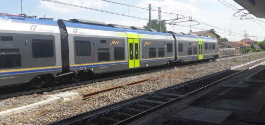 Treni stazione piano di riduzione