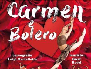 Carmen e Bolero al Teatro Cantoregi di Carignano