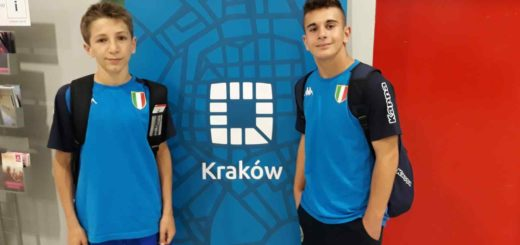 Davide Zilio e Vittorio Bussano a Cracovia