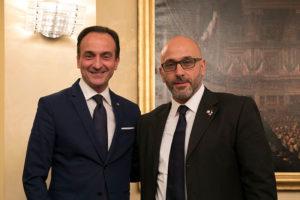 Alberto Cirio e Stefano Allasia Regione Piemonte