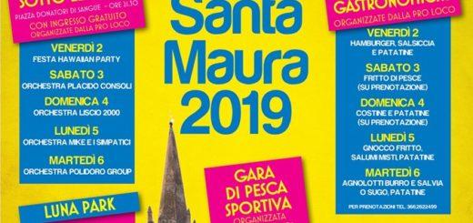 Festa patronale di santa Maura 2019 a Piobesi Torinese