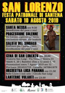San Lorenzo 10 agosto 2019 a Santena