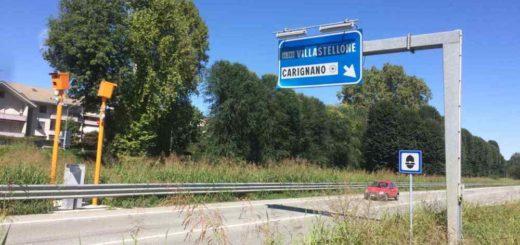 Autovelox fisso a Carignano