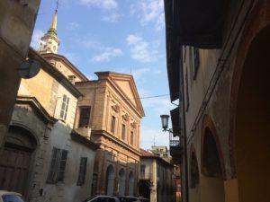 La chiesa dei Battuti Bianchi a Carignano iospita il concerto degli Architorti