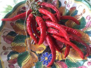 Rosso fuoco l'estate nelpiatto