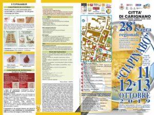Sagra del Ciapinabò 2019 a Carignano