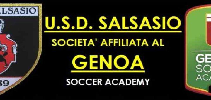 Affiliazione del Salsasio al Genoa Academy