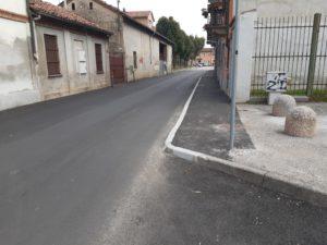 Asfaltatura strade Carignano