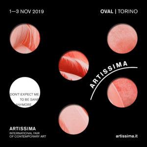 Fiera d'arte contemporanea Artisima Torino 2019