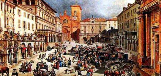 Piazza Maggiore a Moncalieri