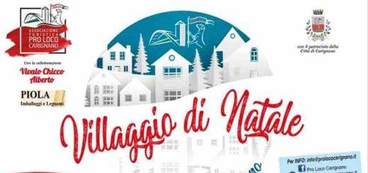 Villaggio di Natale a Carignano