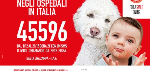 Basta una zampa SMS Solidale