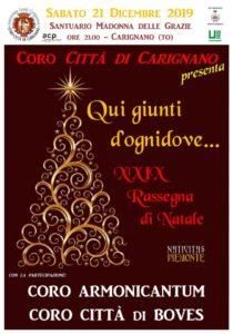 Concerto di Natale a Carignano