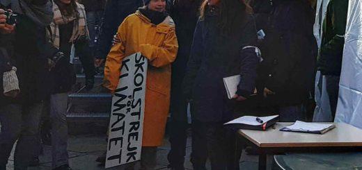 Greta Thunberg Torino 13 dicembre 2019