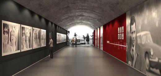 Rendering Gallerie d'Italia - Nuovo museo Palazzo Turinetti Torino