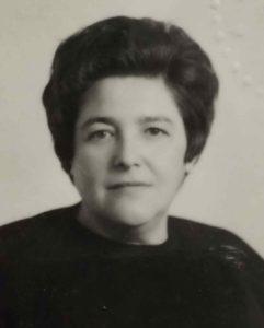 La maestra Anna Perrrone