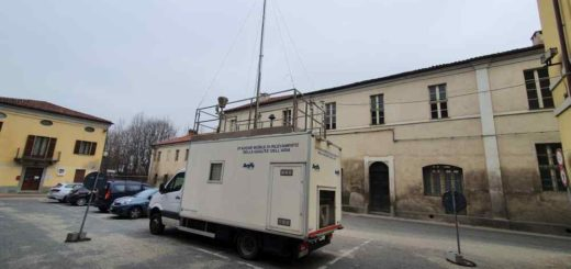 Stazione mobile Arpa a Villastellone