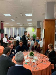 Il Comitato Manifestazioni a cena all'Alberghiero