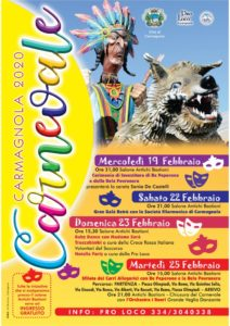 Carnevale 2020 e un compleanno speciale per Re Peperone