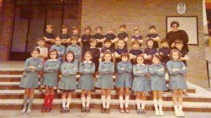 Una classe di Anna Perrone la maestra di Villastellone