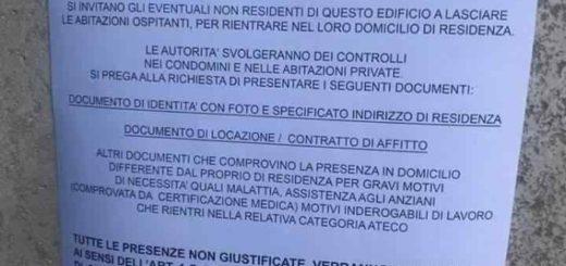 Falso documento Ministero dell'Interno