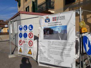 largo Vittorio Veneto a Carmagnola