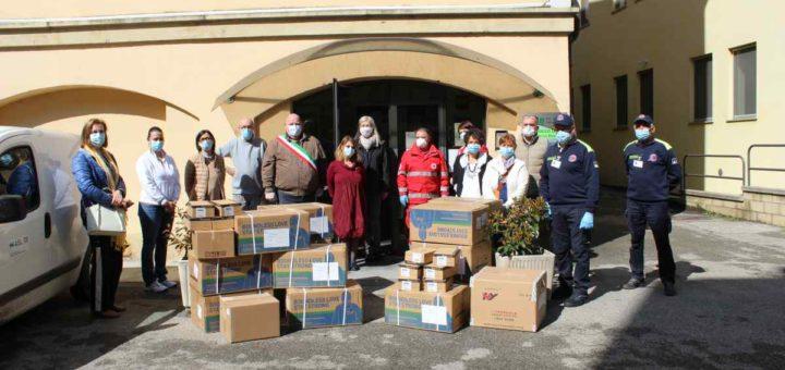 osasio coordina le donazioni dei comuni