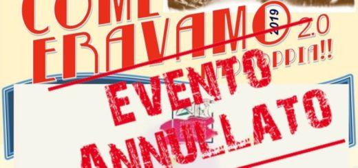 Evento annullato Carignano