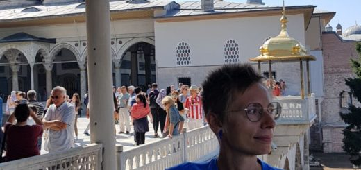 Con Alessia Respighi a Istanbul