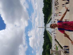 A Washington con Alessia Respighi