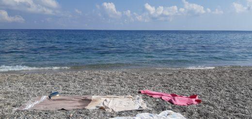 spiaggia liguria di ponente