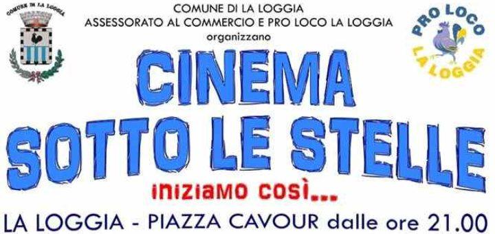 Cinema sotto le stelle a La Loggia