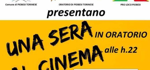 Oratorio di Piobesi Cinema all'aperto