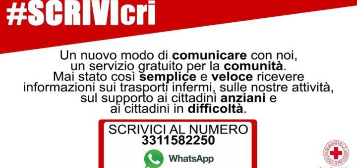 #scrivcri croce rossa carignano
