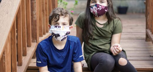 mascherina scuola sicura