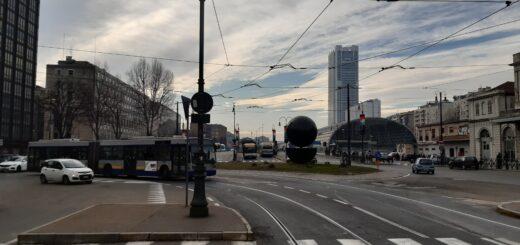 Torino semaforo arancione